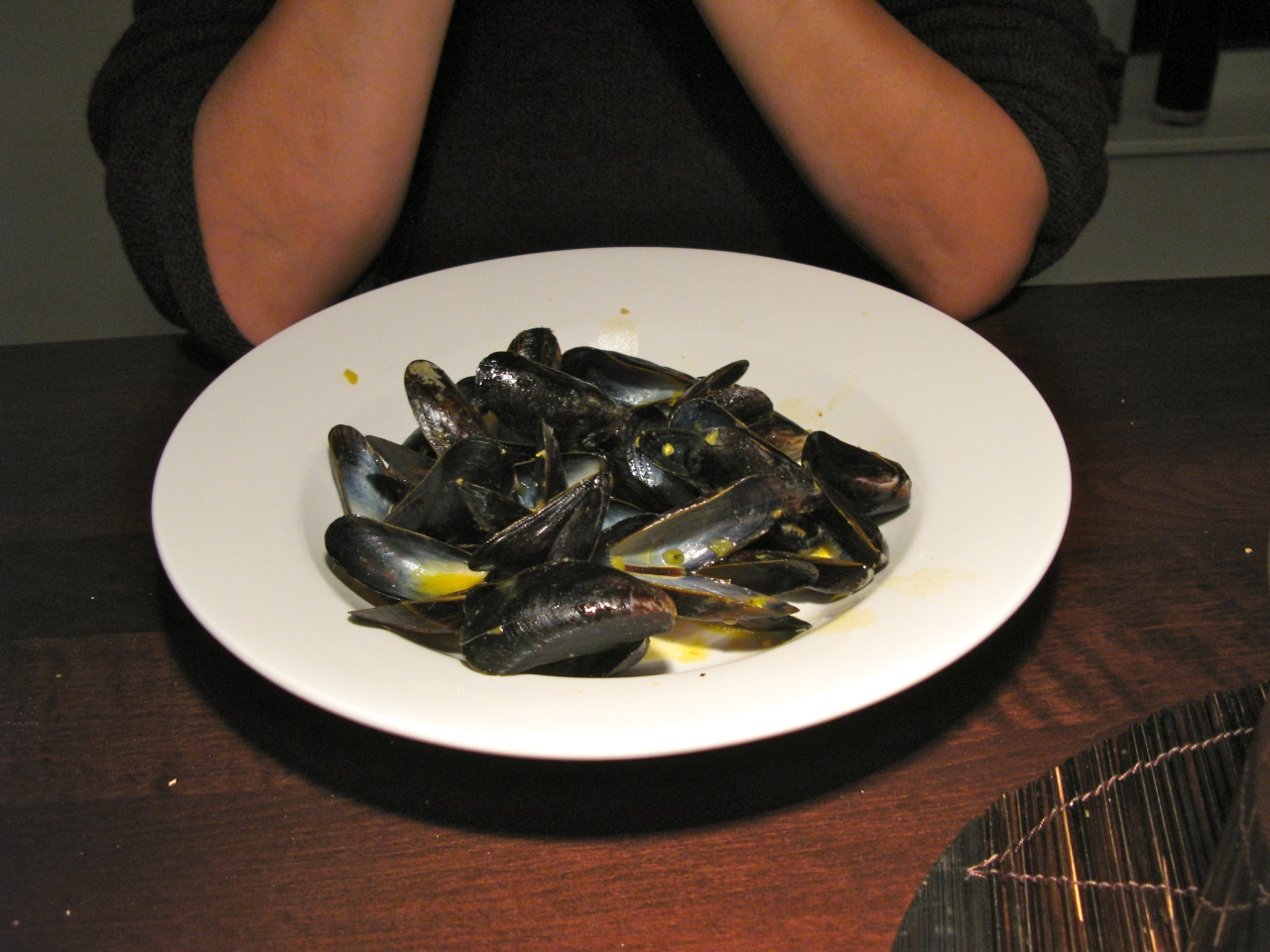 Mussels (Muscheln)…with Saffron and Mustard