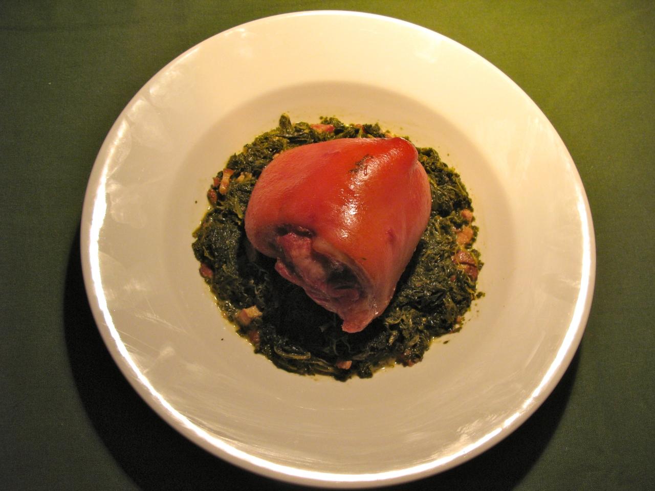 Grünkohl mit Ham-Hock