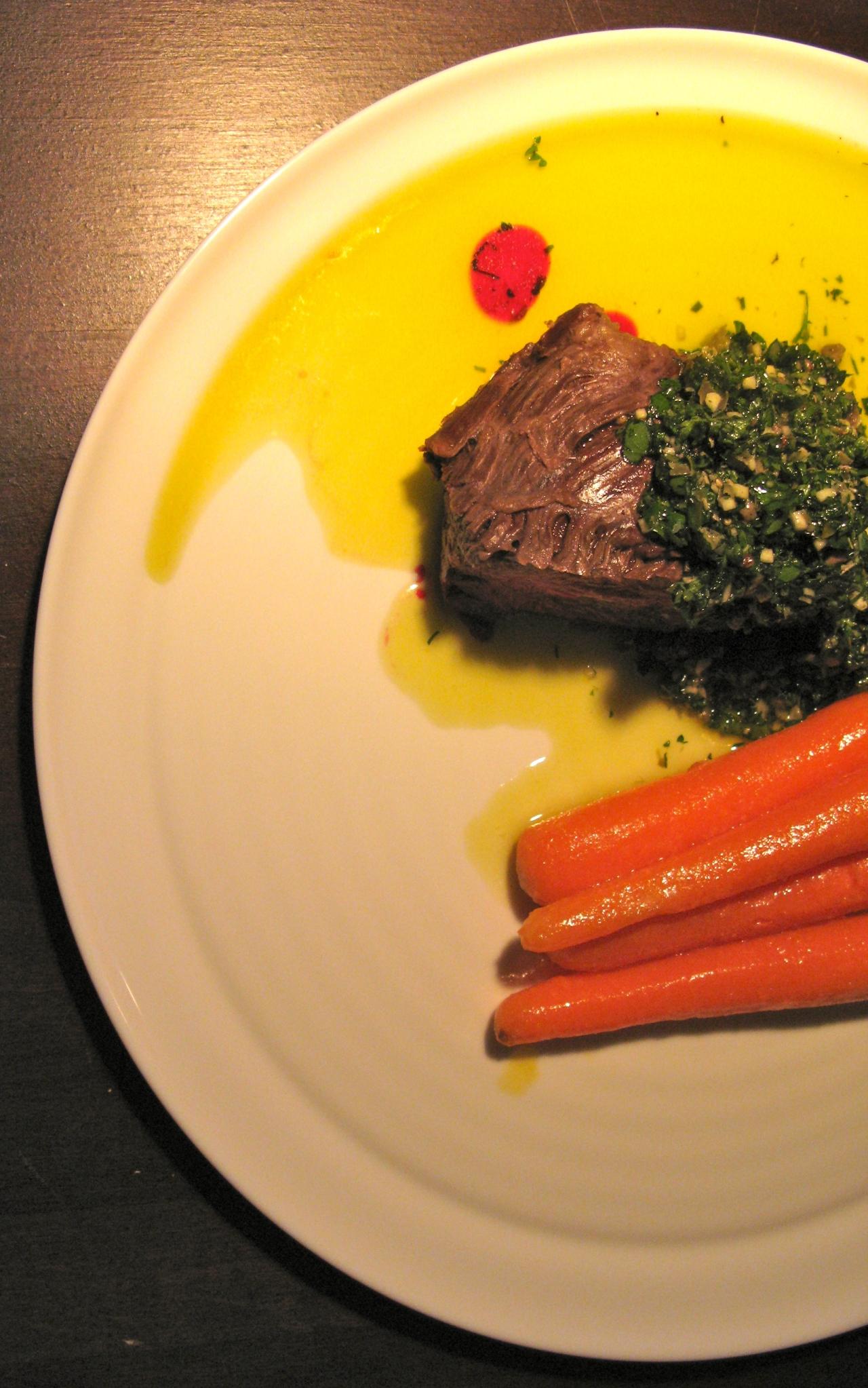 Onglet | Green Sauce |Karotten