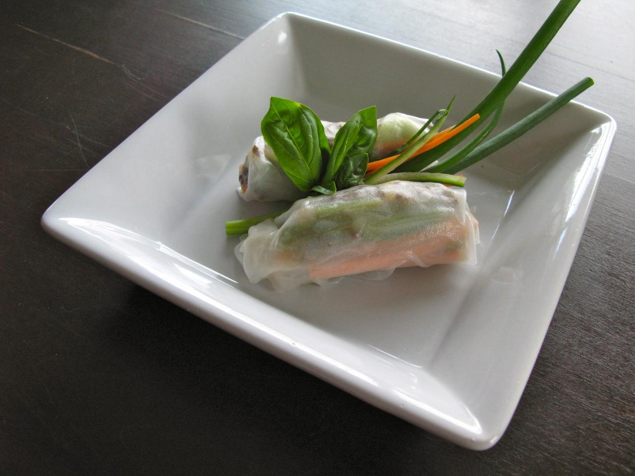 Das perfekte Dinner | Vietnamesische Reispapierrollen