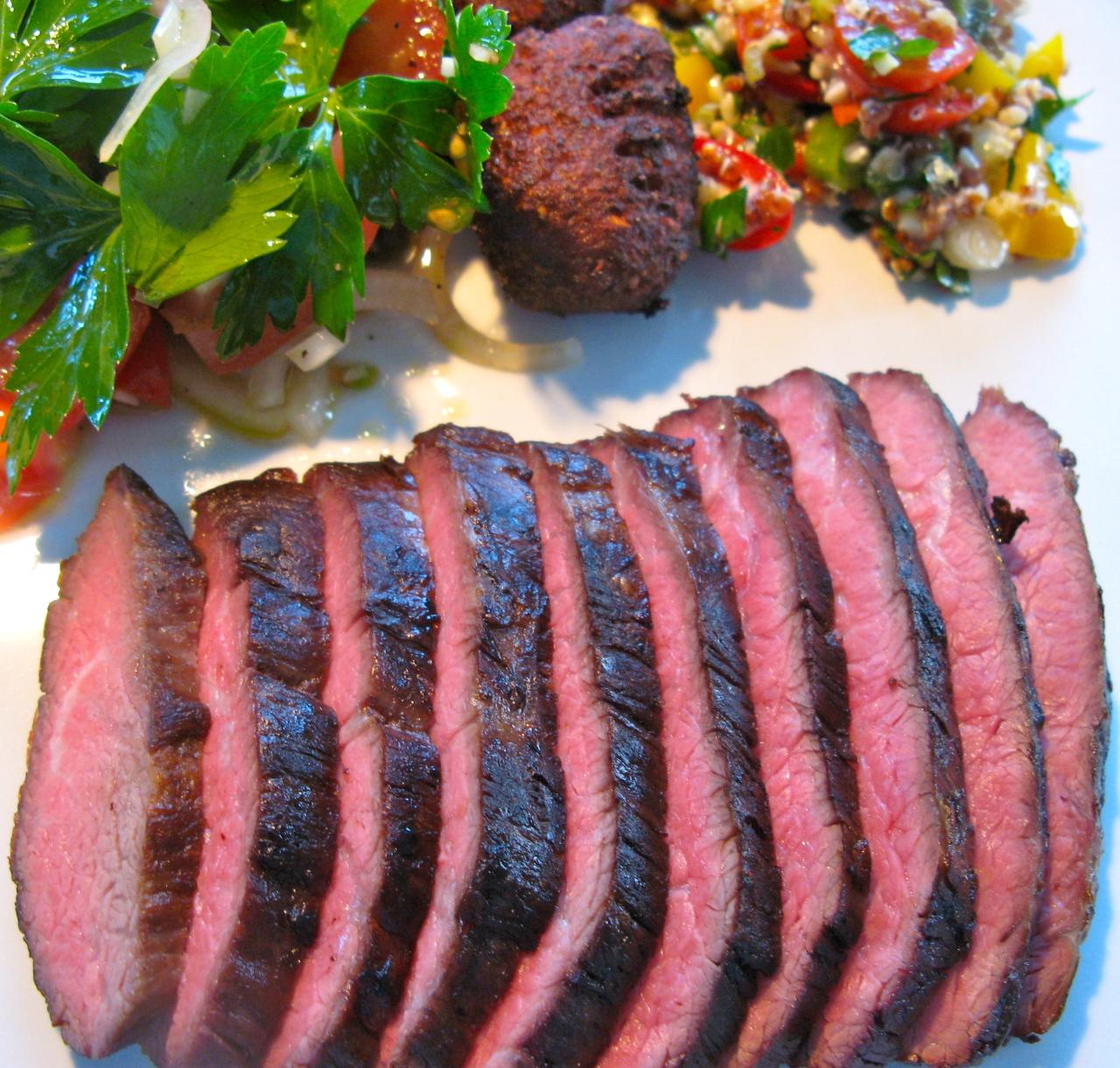 Zweimal gebratenes Rindfleisch – einExperiment