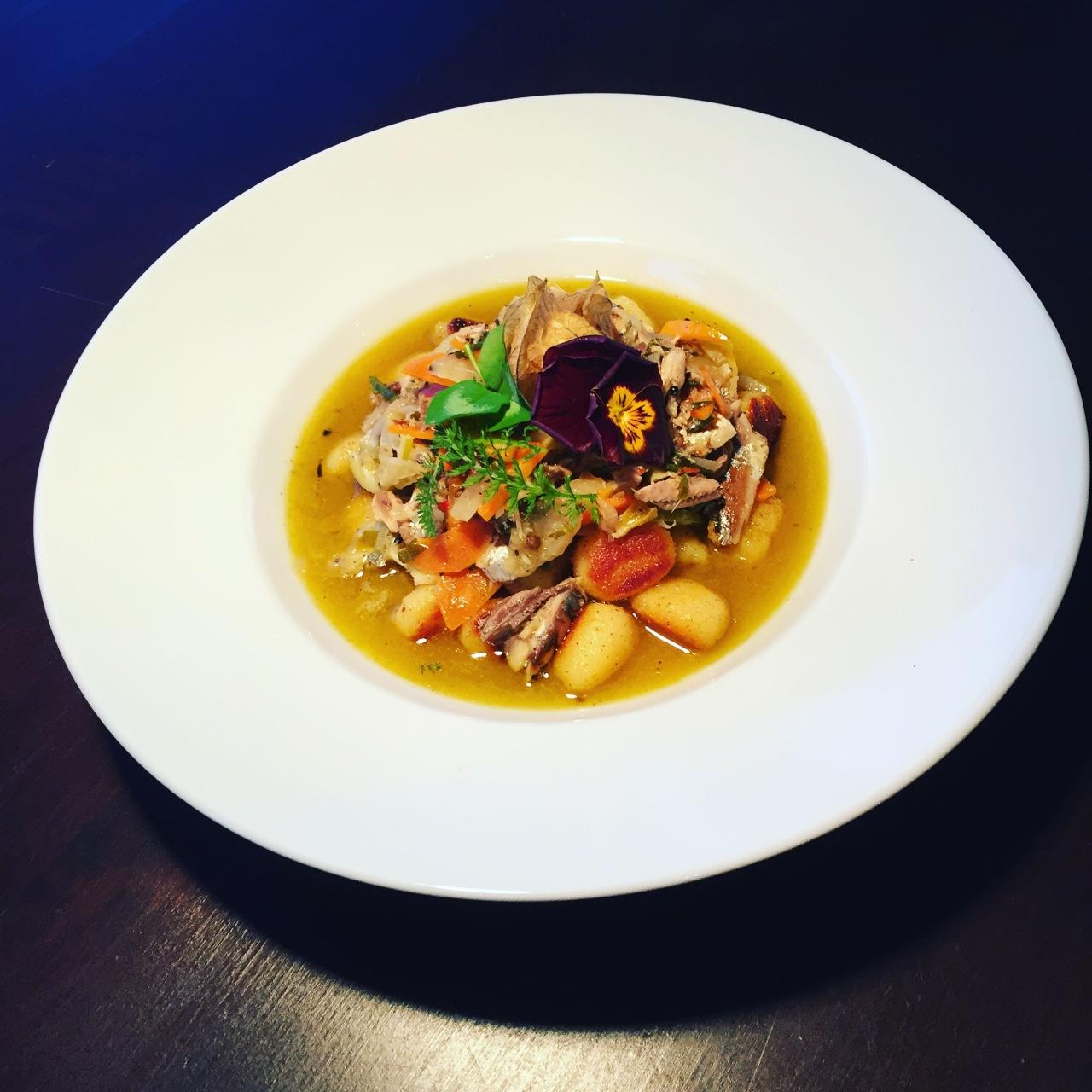ZEIT-Kochtag: Gnocchi mit mariniertenÖlsardinen