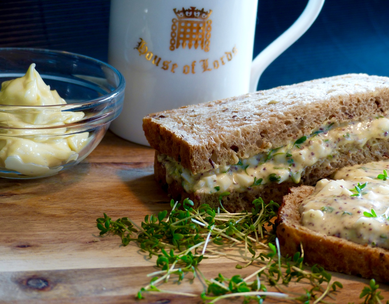 Ei-Kresse-Mayo Sandwich | veryBritish