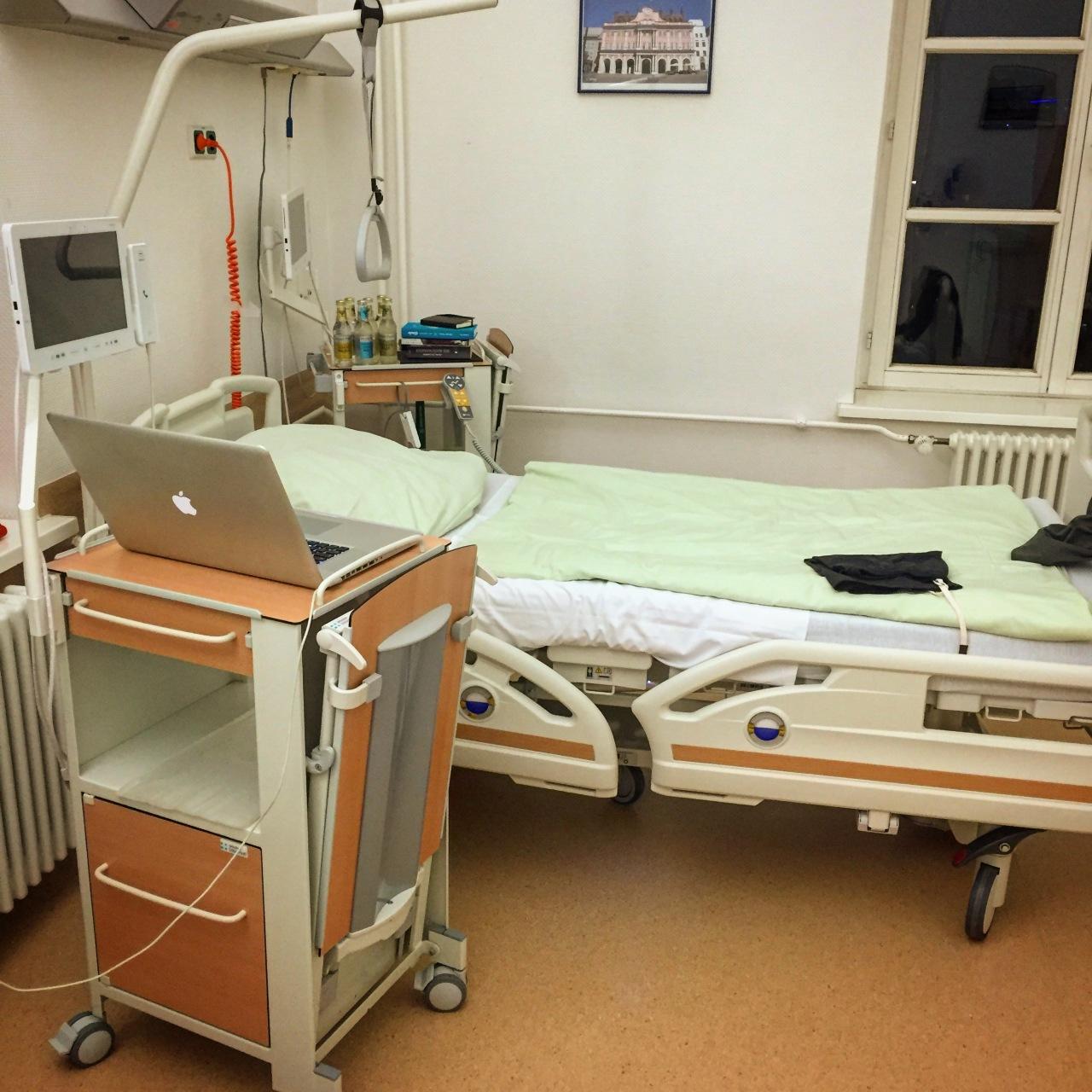 Blogpause? 6 Wochen ohne Kochen!#Klinikblog
