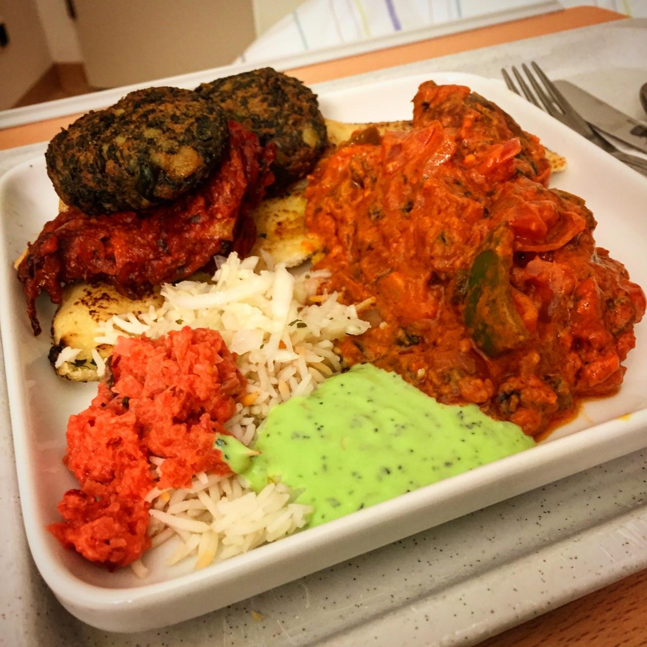Fischfilet, Mutton Kofta, Garlic Naan#Klinikblog