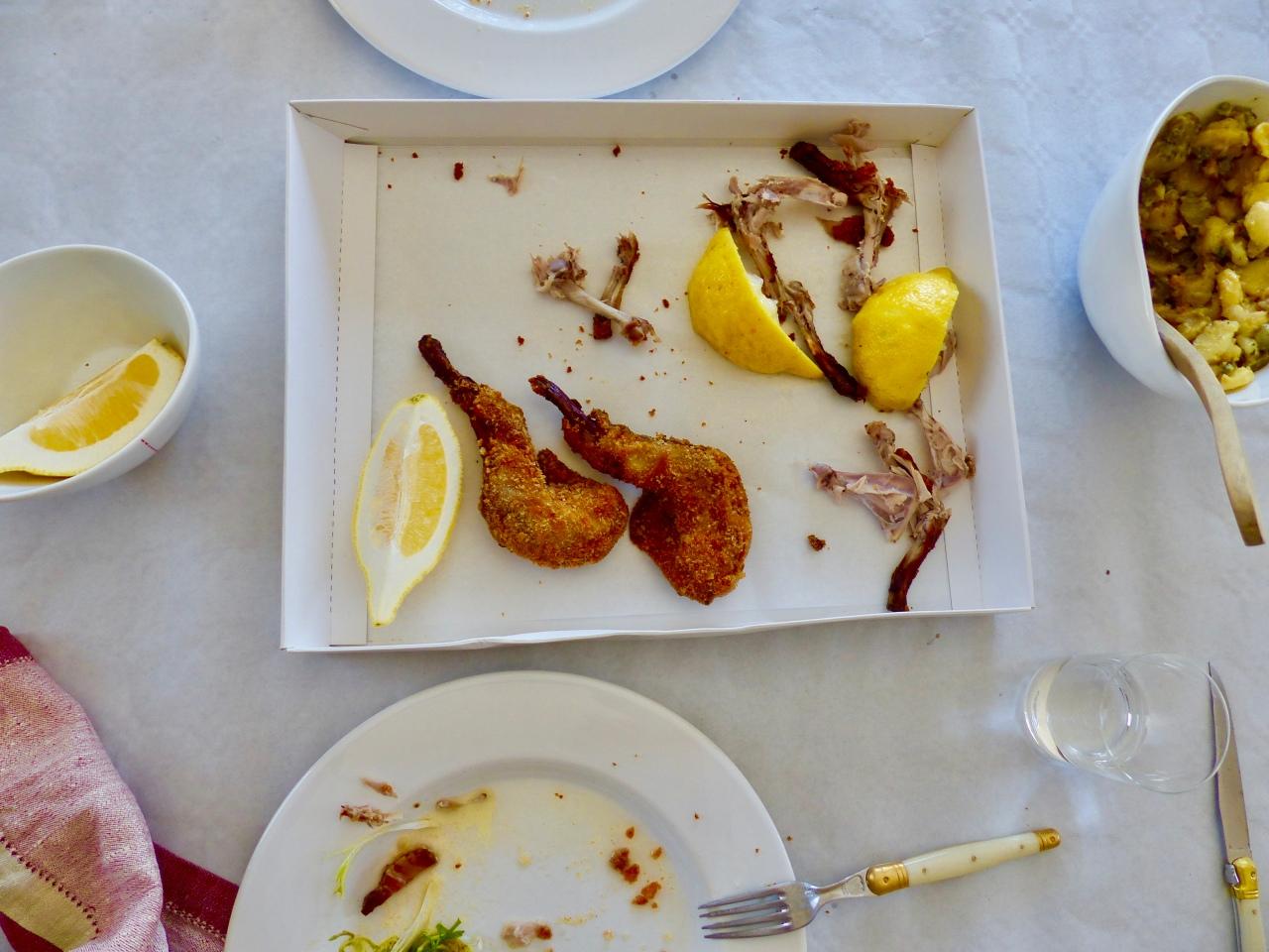 Frittiertes Kaninchen | TrotterGear