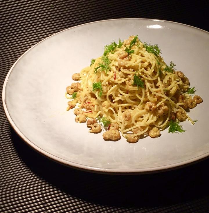 Pasta mit Fenchel, Zitrone und Krabben | Linguette con Finocchio, Limone e Gamberi |World Pasta Day2017