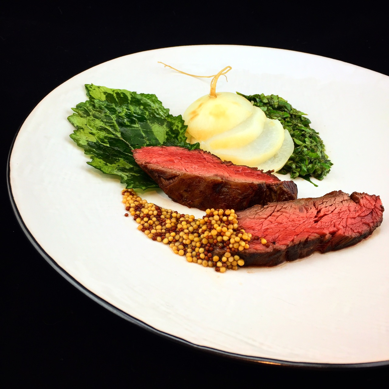 Flank Steak aus der Pfanne