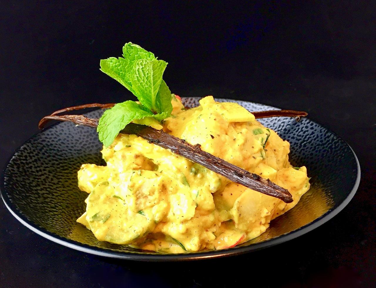 Kartoffelsalat mit Joghurt-Petersilien-Dressing |Ayurveda