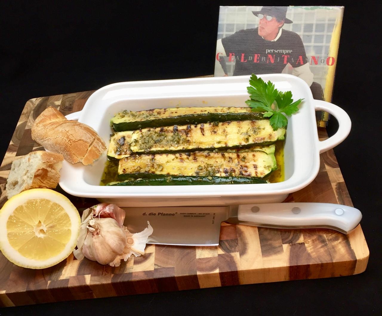 Zucchini a scapece | MarinierteZucchini