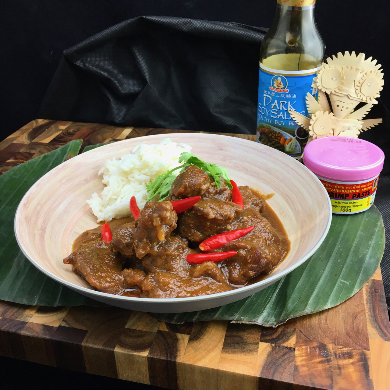 Krengsengan Kambing | Indonesisches Lammgulasch